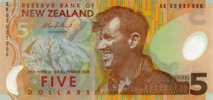 Sir Edmund Hillary – the first man to reach the peak of Mount Everest was a New Zealander (born in Auckland)
