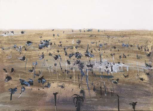 Fred Williams, Landscape (Bushfire Series)