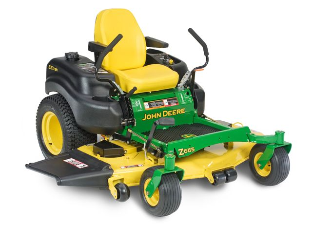 John Deere Z665 Z600 Series Zero-Turn Riding Mowers JohnDeere.com