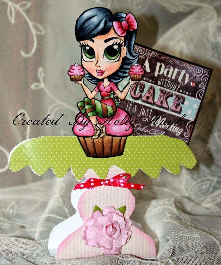DB Craft Girls: Sweet Ladies! Princess Cupcake Rio