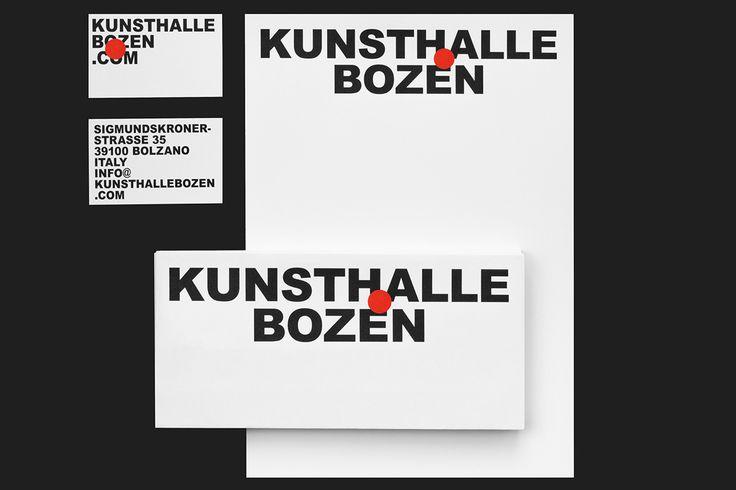 Kunsthalle Bozen on Behance
