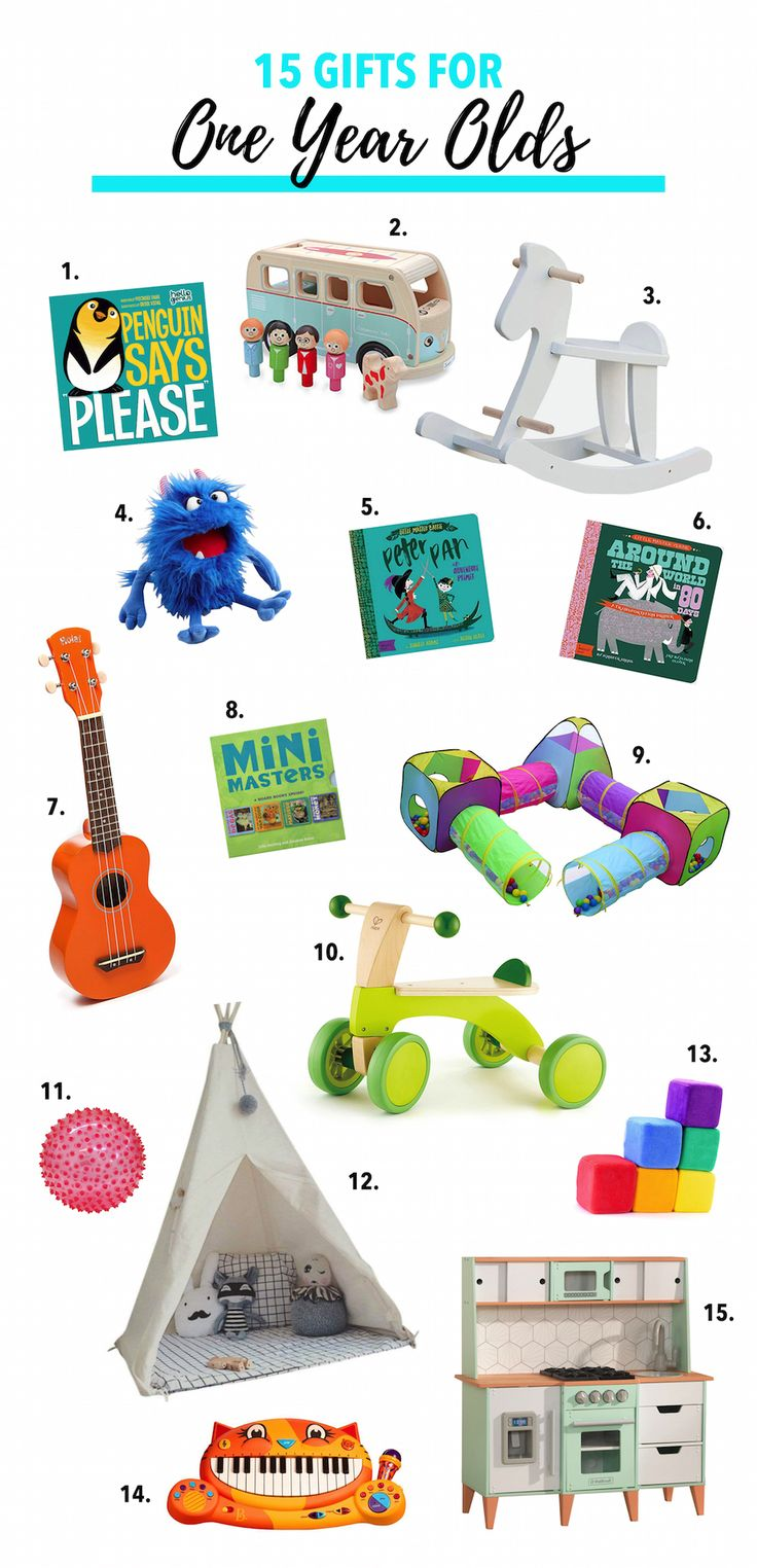 15 Gifts for OneYearOlds (With images) One year old