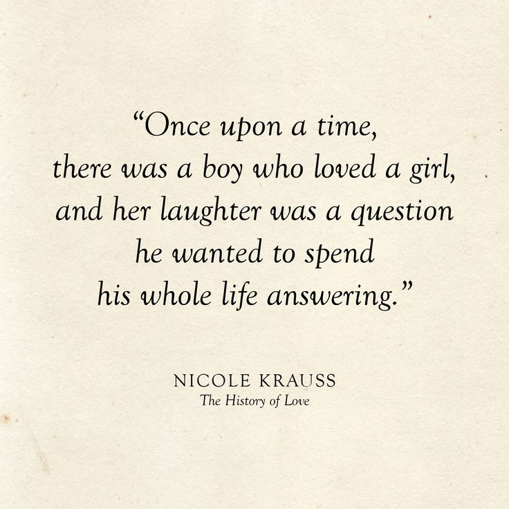 Once upon a time, there was a boy who loved a girl, and her laughter was a quest…