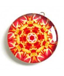 Mandala ohnivá síla