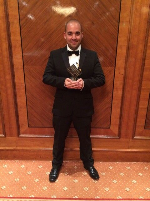 "I was very pleased to be awarded ""ACTOR OF THE YEAR AWARD"" at ""HALL OF FAME LONDON 2015"""