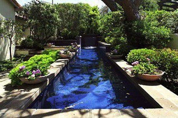 56 best lap pools images on pinterest lap pools outdoor for Small lap pool designs