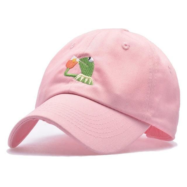 Kermit the Frog None of My Buisness Meme Dad Hat | 5 Colors