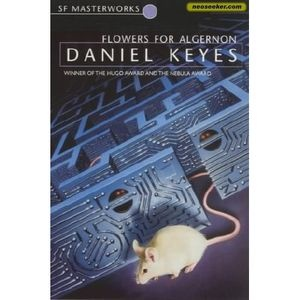 Flowers for Algernon, by Daniel Keyes. 32 year old Charlie has an I.Q. of 68. He participates in an experiment to enhance human intelligence and becomes a genius. But when the test mouse Algernon dies, Charlie is left with the aching knowledge that he has limited time left as he is now.