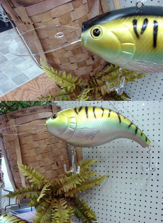 Giant Oversized Fishing Lure Hula Popper Diving Hanging