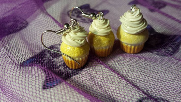 cupcakes charms polymer clay