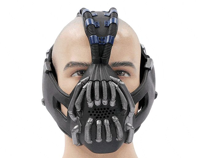 dark knight rises tom hardy bane mask with voice changer batman - Halloween Costumes Bane
