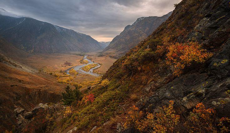 Altai mountains, Долина реки Чулышман