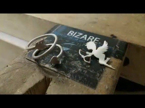 How to make a Valentine Sterling Silver pendant / ring