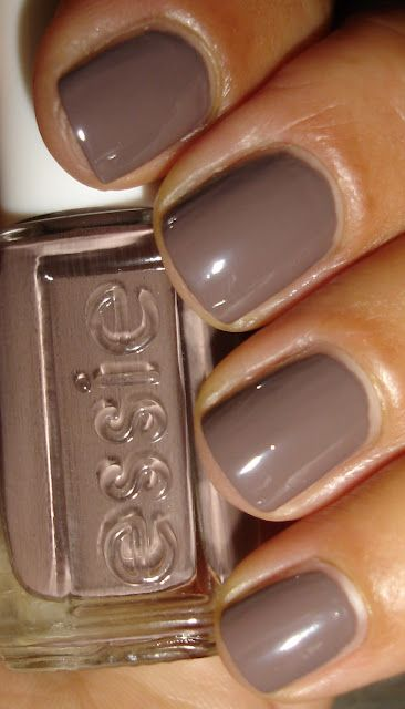 "Essie - ""Don't Sweater It"" Perfect fall color"