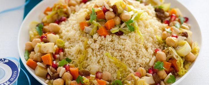 gran cous cous vegetariano Sale&Pepe ricetta