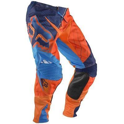 FOX 360 FLIGHT MOTOCROSS PANTS #32 NEW KTM Orange Motorcross Off Road