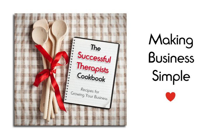 Welcome to The Successful Therapists Cookbook