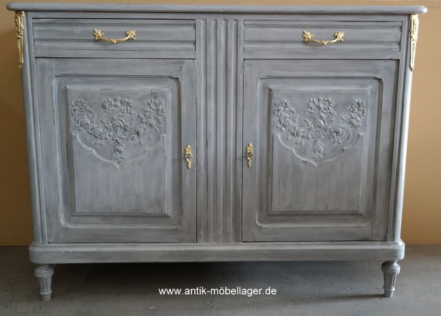 Awesome Antike Anrichte ca Antique Sideboard s Restored Painted Dresser