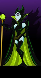 Maleficent as Madam Hydra (Captain America) by racookie3