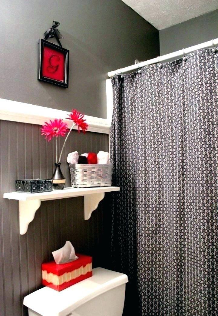 Gentil Awesome Red And Black Bathroom Design Ideas, Based On What Mood You Need To  Create