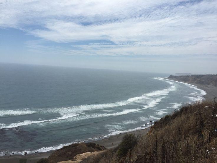 Mirador de Balneario Matanza, VI región, Chile  Ideal para deporte de agua y viendo como el surf u otros.