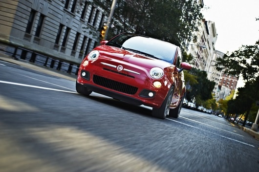 2013 Fiat 500 Turbo with Beats by Dre Audio System.