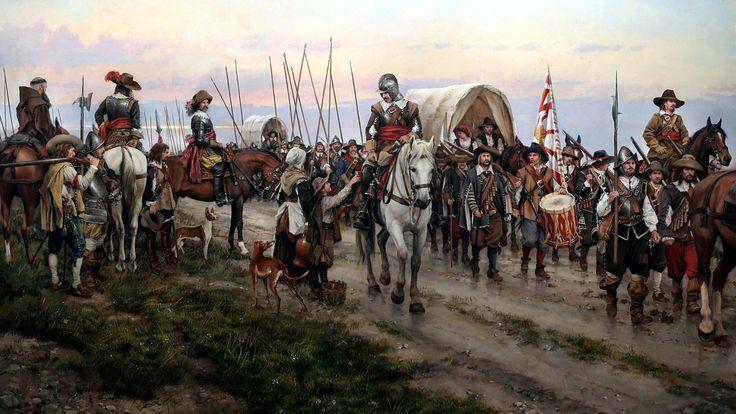 El Camino Español, por el maestro Ferrer-Dalmau. Más en www.elgrancapitan.org/foro
