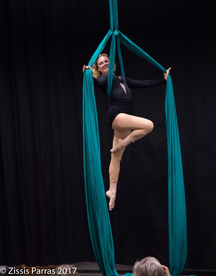 aerial silks performance video - Bobby Schimmel Down in Flames - Ella Vos The Circus Fix Toronto