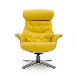 FAUTEUIL INCLINABLE CUIR...
