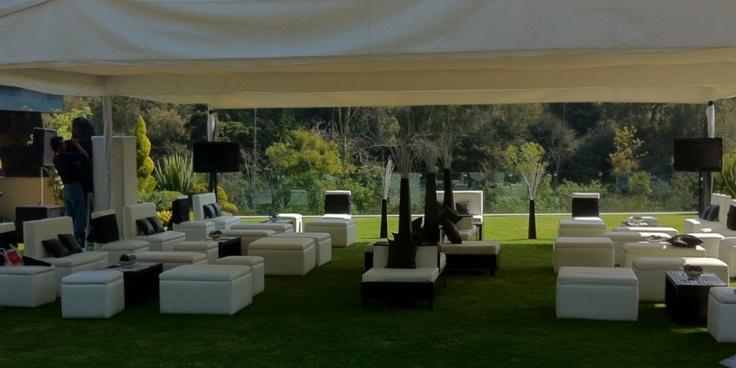 Salas lounge. Renta de Salas lounge. Salas Lounge para tus eventos.