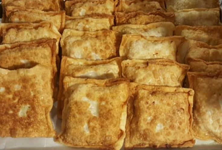 Recette : Egg-rolls déjeuner de maman.