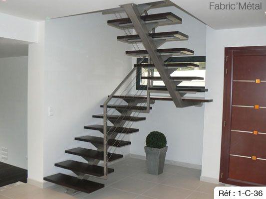 17 meilleures id es propos de escalier 2 4 tournant sur pinterest main courante bois fer. Black Bedroom Furniture Sets. Home Design Ideas