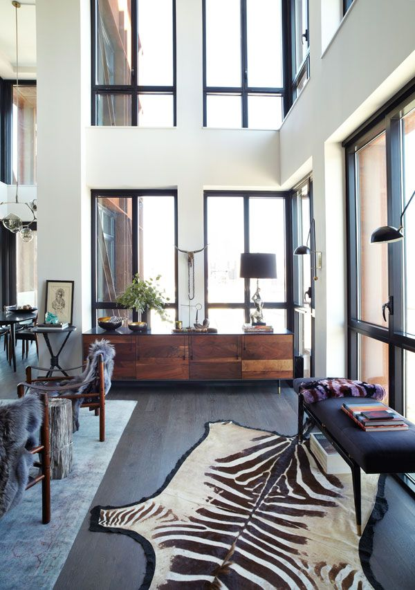 Athena Calderone's Living Room - Pictures from Athena Calderon's Brooklyn Apartment - Harper's BAZAAR