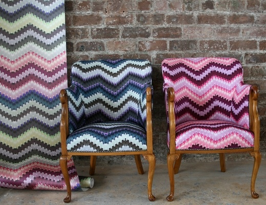 Liberty Prints Chairs from Timorous Beasties