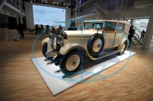 Škoda Hispano Suiza in newly reopened Skoda Cars Museum in Mlada Boleslav, Czech Republic