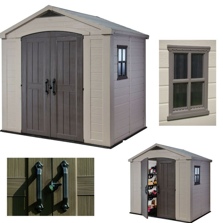 Outdoor Storage Garden Shed Plastic Sheds Utility