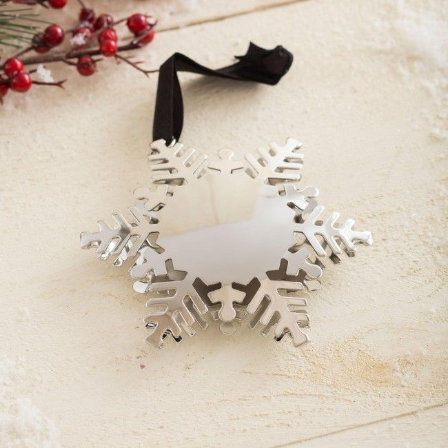 Decorate your tree with our Snowflake Ornament this year.