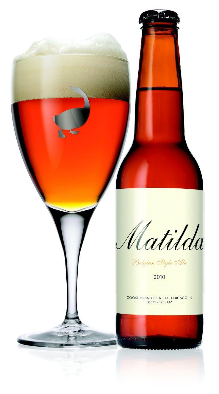 Goose Island Matilda 7 An Amazing Tasting Beer That Is A Little Pricey But Worth Every Penny Cervejas Artesanais Rotulos De Cerveja Tipos De Cerveja