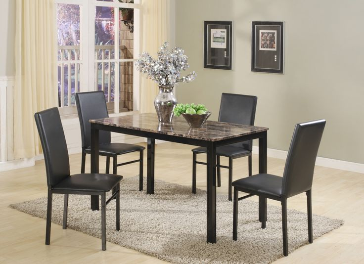 Aiden 5 Piece Dinette Table And 4 Chairs 29900 48 X 30