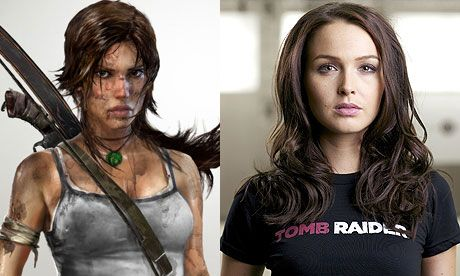 """Camilla Luddington, currently playing a doctor on """"Grey's Anatomy,"""" is the new voice of Lara Croft for the Tomb Raider game coming March 2013."""