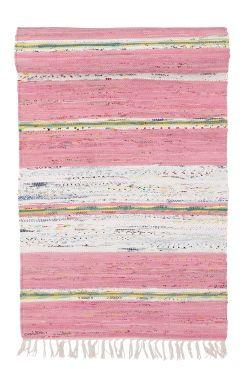 BJÖRKÖ-räsymatto, 70x150 cm Käsinkudottu räsymatto. Käsinkudotut matot ovat yksilöllisiä, ja niissä voi esiintyä eroavaisuuksia. Puuvillaa. Kemiallinen pesu. 70x150 cm.