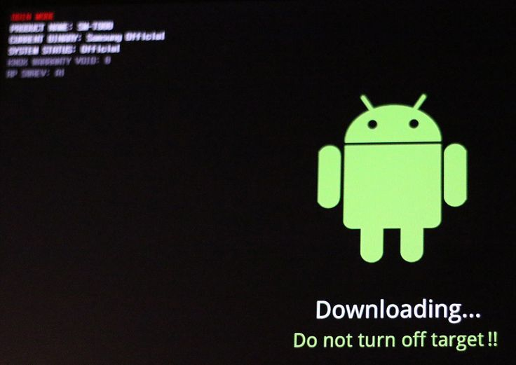 How to Exit from Odin Mode on Samsung Galaxy Tab S