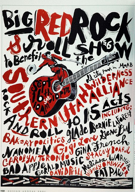 Minus the guiter and hickishness, this is actually a pretty punk design and has a lot of attitude that could work well me thinks. Like if we paired this grittiness with the script elegant font in your logo it would be a great juxtaposition