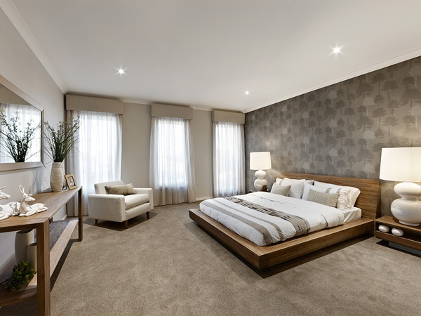 d three | Home Designs | Eight Homes | Master Bedroom