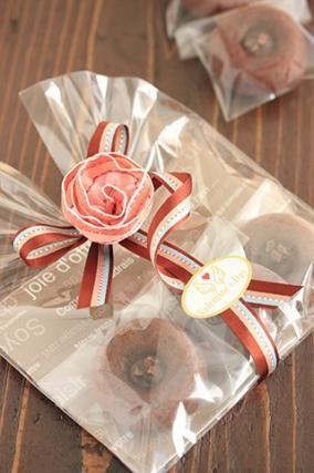「バレンタインのラッピング「焼菓子」」お菓子教室SweetRibbonが提案する簡単かわいいお菓子ラッピング | お菓子・パンのレシピや作り方【corecle*コレクル】