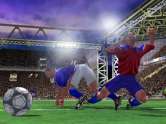 EA FIFA 2001 Game Screenshots