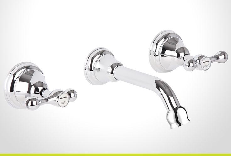 Maestro chrome lever handle bath set