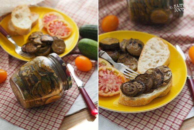 HAPPYFOOD - Простой рецепт кабачков с чесноком на зиму