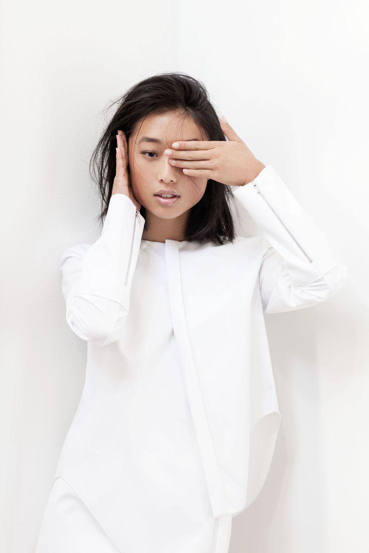 Shine by Three | bright white goodness #style #fashion