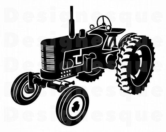 Tractor 8 Svg Tractor Svg Farm Tractor Svg Tractor Etsy Tractor Clipart Tractors Farm Tractor